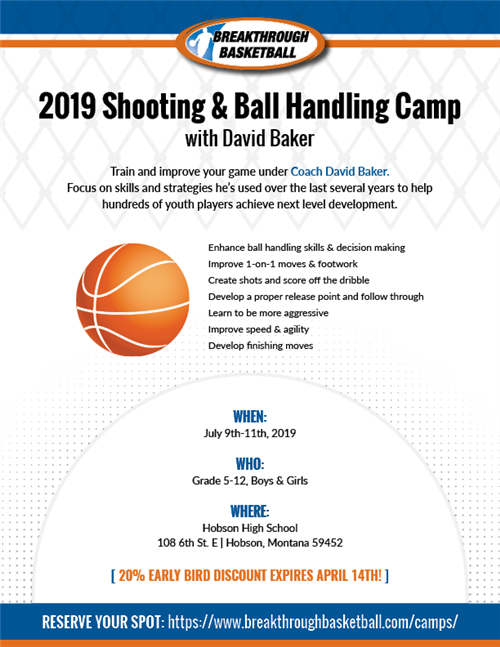 flyer for basketball camp - Bare.bearsbackyard.co